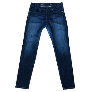 AG The Farrah High Rise Skinny Jeans In Paradox
